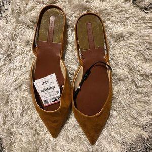 Zara Flats - Brand New Size 7.5